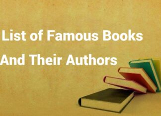 famous books and their authors